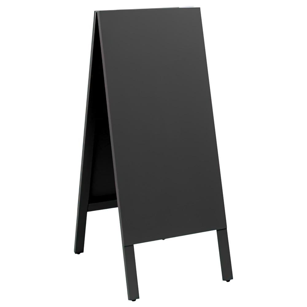 A型両面チョークボード 大型タイプ W450×D580×H1105mm 黒板 メニューボード カフェ ディスプレイ 看板 ナチュラル 店舗備品