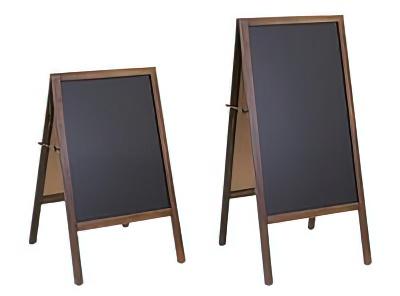 商品説明画像(WC-WAB520ANC-S:A型両面ブラックボード 小型タイプ)