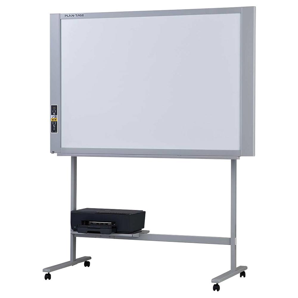 オフィス用プラン・テージ 電子黒板 プリンタ付きスタンダードタイプ W1480 D675 H1847  ホワイト