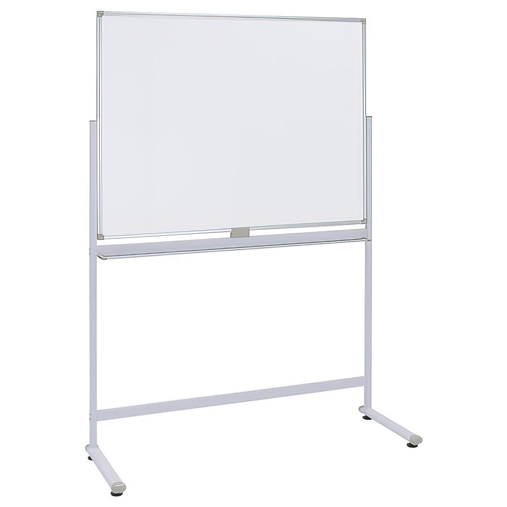 片面L字脚ホワイトボード 無地mm W1200×H900mm 白板 ホワイトボード 片面 L字脚 無地 オフィス家具