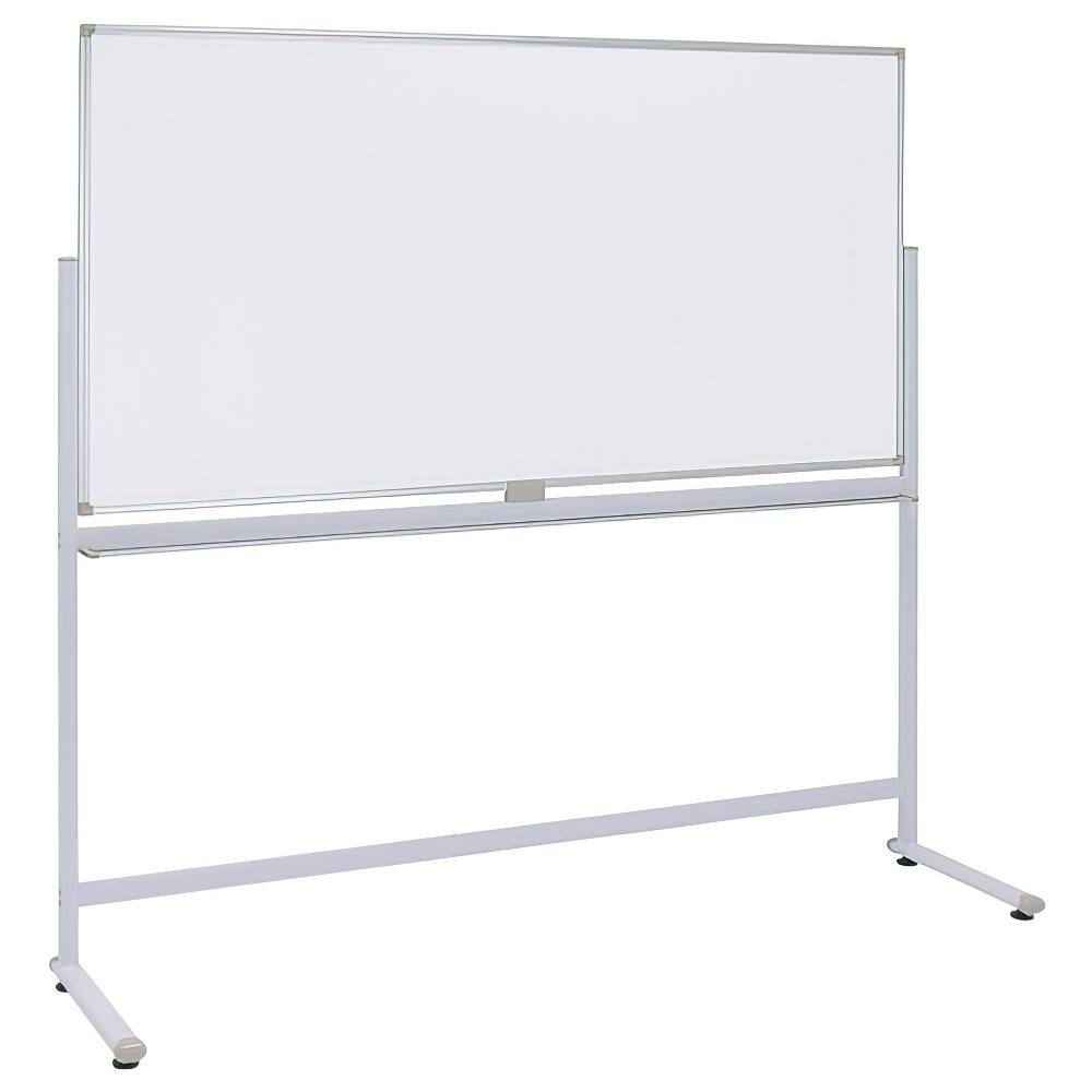 片面L字脚ホワイトボード 無地mm W1800×H900mm 白板 ホワイトボード 片面 L字脚 無地 オフィス家具
