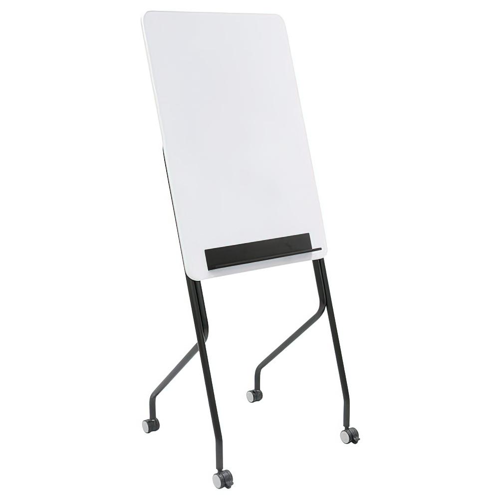 スタッキングホワイトボード W600×D470×H1500mm 無地 脚付 白板 スタッキング ホワイトボード キャスター付き オフィス家具