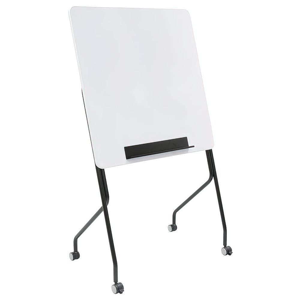 スタッキングホワイトボード W900×D470×H1500mm 無地 脚付 白板 スタッキング ホワイトボード キャスター付き オフィス家具