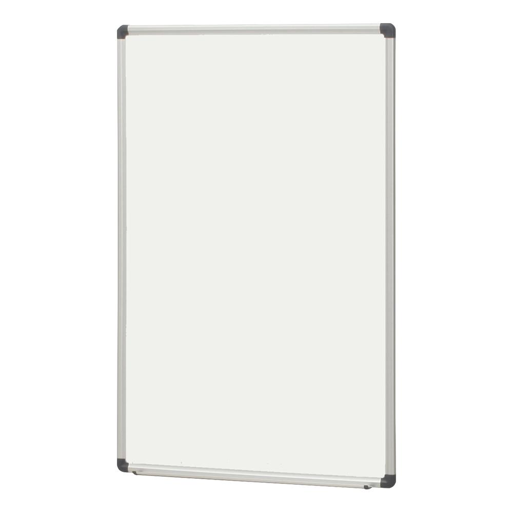 オフィス用壁掛けホーロー板面ホワイトボード 無地  W600 D41 H900  ホワイト