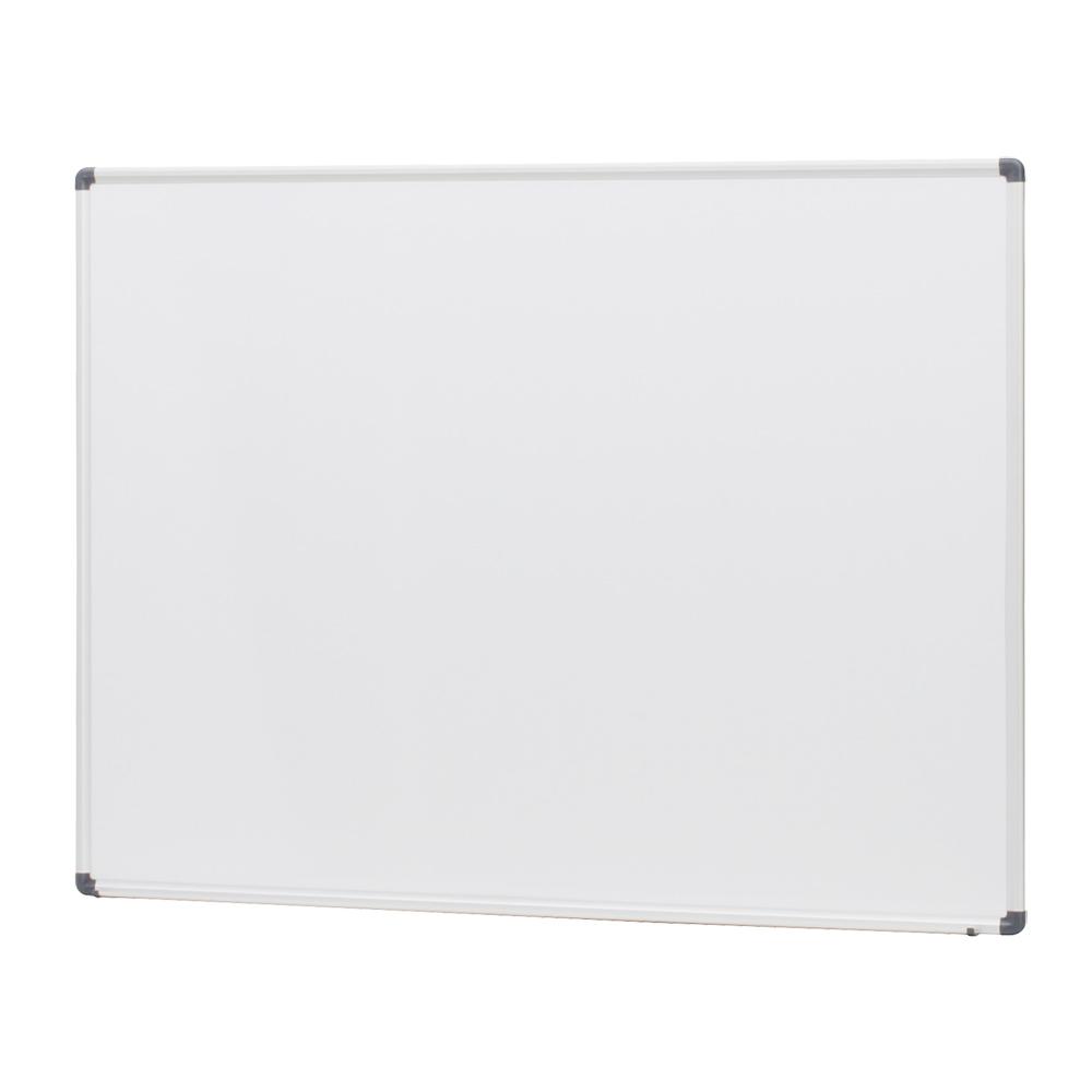 オフィス用壁掛けホーロー板面ホワイトボード 無地  W1200 D41 H900  ホワイト