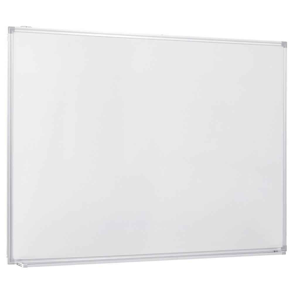 壁掛けホワイトボード 無地 W1200×H900mm 白板 ホワイトボード 壁掛 無地 マーカー付き オフィス家具