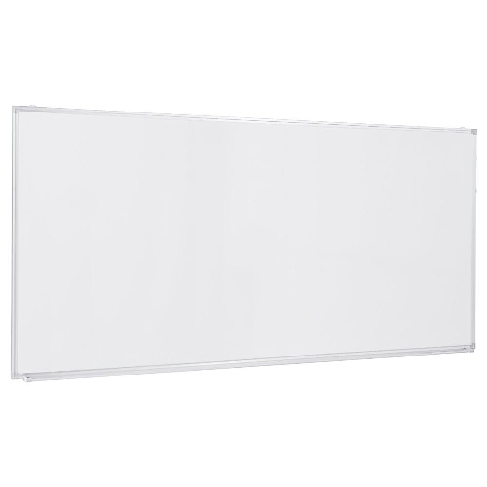 壁掛けホワイトボード 無地 W1800×H900mm 白板 ホワイトボード 壁掛 無地 マーカー付き オフィス家具