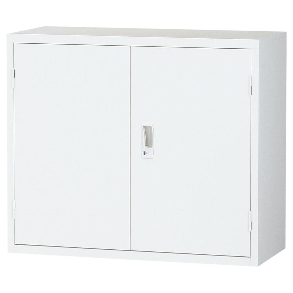 オフィス用両開き書庫 ALZシリーズ W880 D380 H750  ホワイト