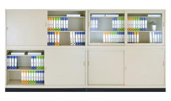 スチール6×3書庫の設置例2