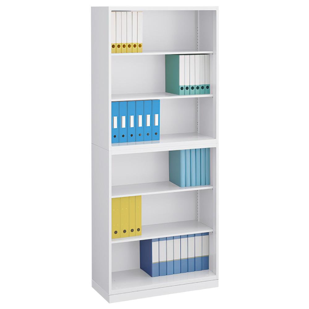 オープン書庫×オープン書庫セット W900×D400×H2150mm スチール書庫 書棚 オフィス収納 キャビネット オフィス家具