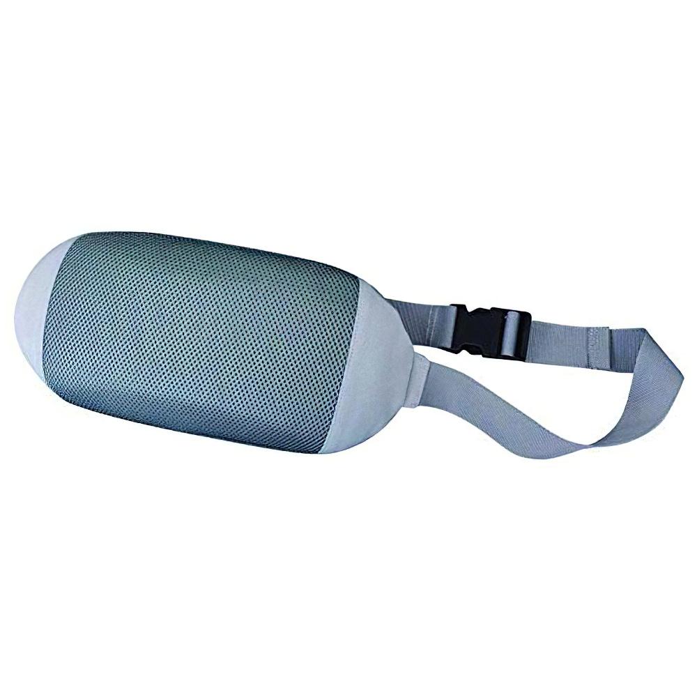 チェアクッションA W330×D65×H170mm グレー チェアアクセサリー チェア周辺備品 メッシュ素材 固定ベルト付き 疲労緩和 オフィス家具