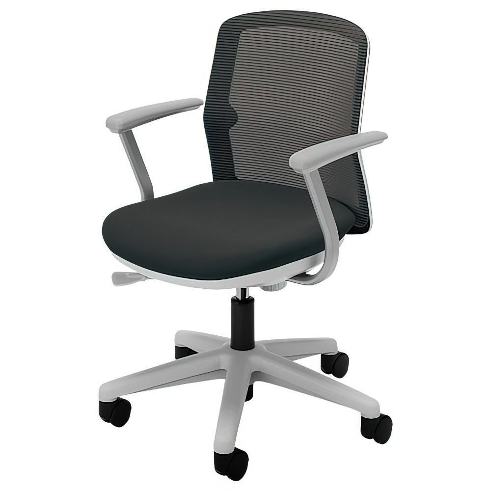 エニーザチェア メッシュタイプ 肘付き W563×D515×H790-885mm オフィスチェア デスクチェア OAチェア 内田洋行 オフィス家具