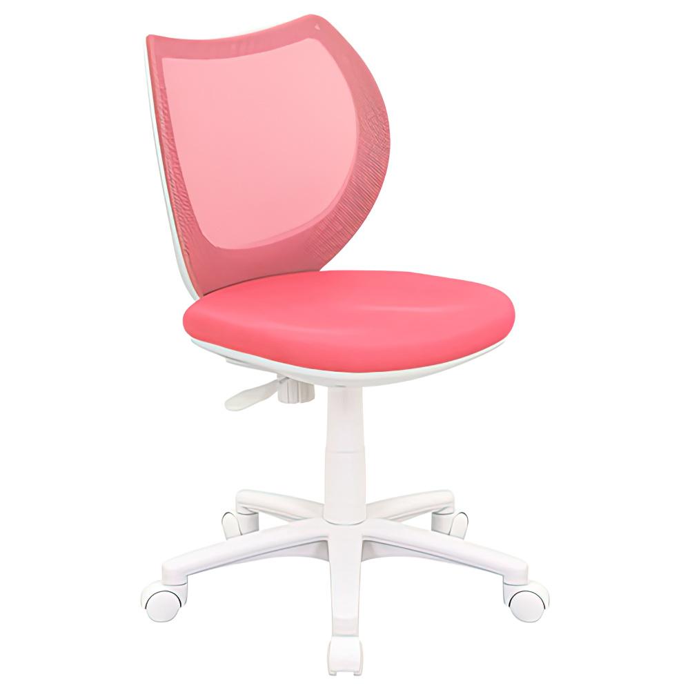 オフィス用フローラル W423 D570 H760-850  ピンク