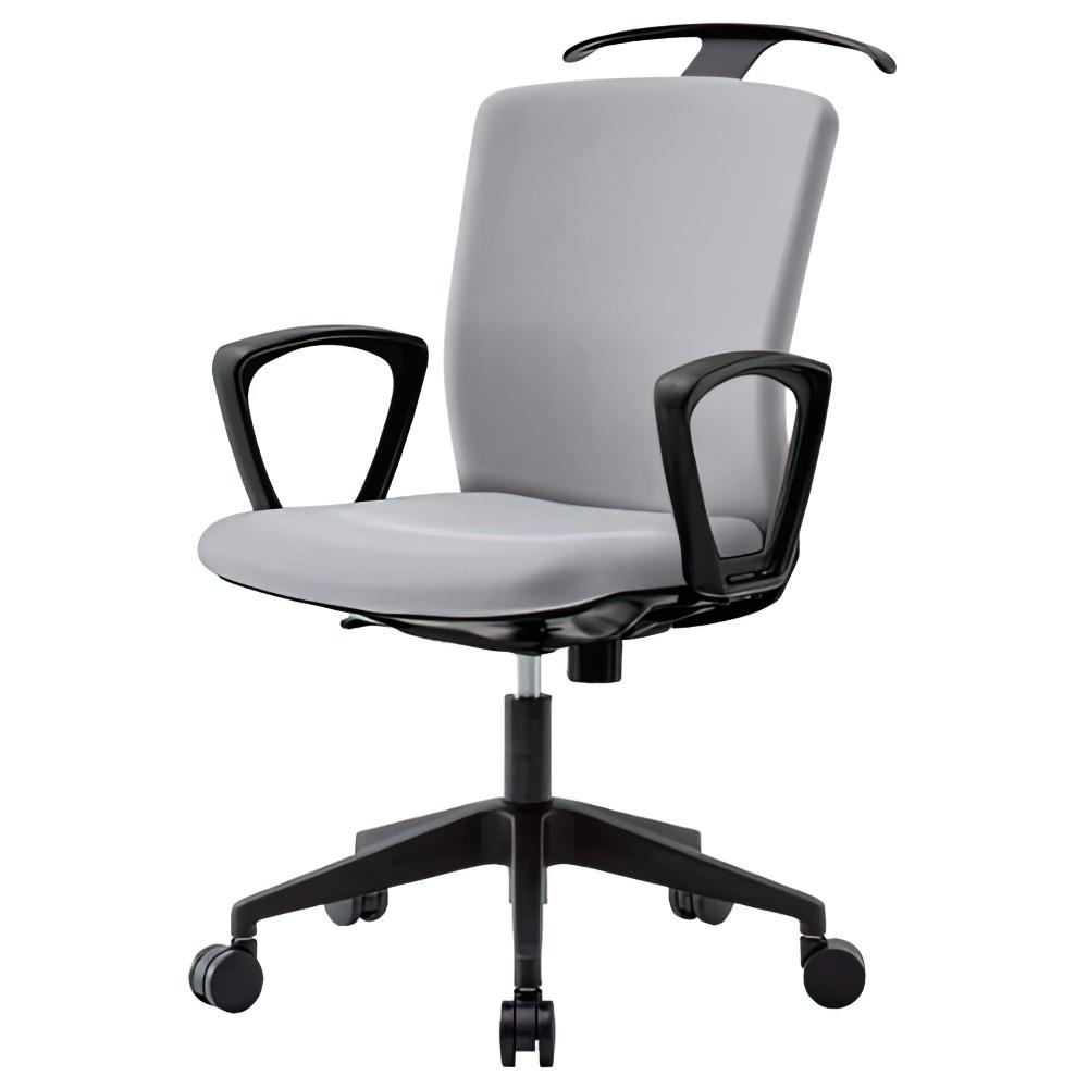 オフィス用ビジネスチェアRRT W592 D730 H910-1000  グレー