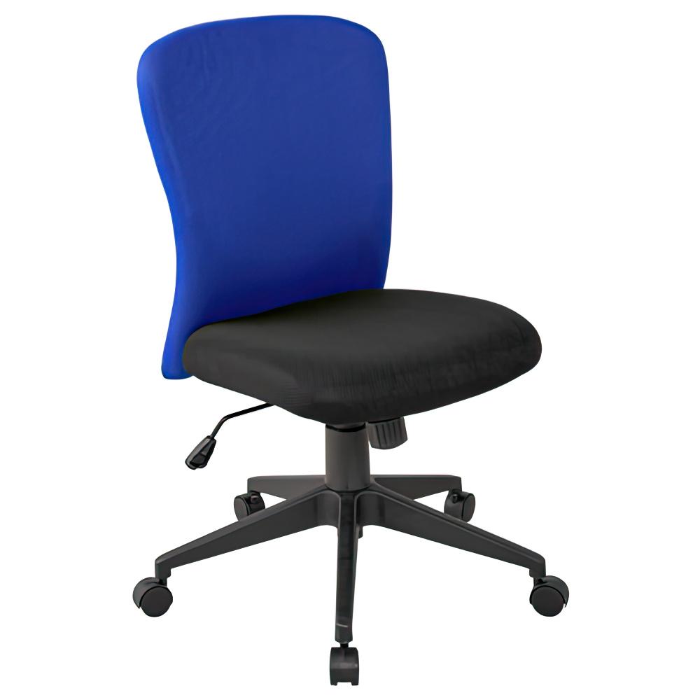 シャトルチェア W575×D520×H920-1020mm オフィスチェア 事務椅子 肘付き ブラック デスクチェア OAチェア オフィス家具