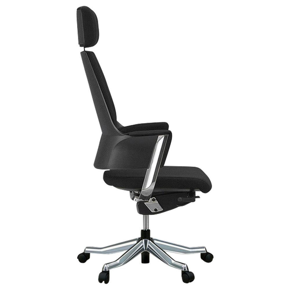 デルフィ ハイバック W600×D700×H1160-1290mm 高機能ブランドチェア ブラック メリーフェア MERRYFAIR オフィス家具