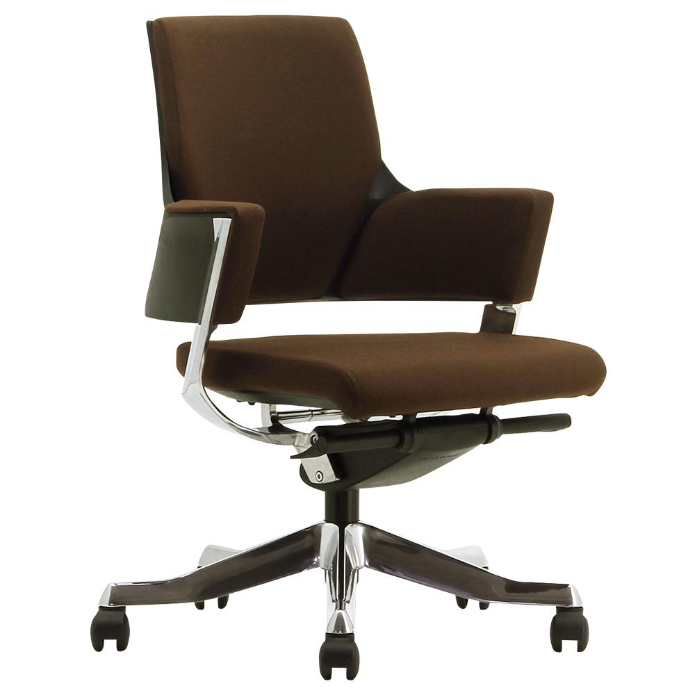 デルフィ ローバック W600×D700×H810-890mm 高機能ブランドチェア オリーブ メリーフェア MERRYFAIR オフィス家具