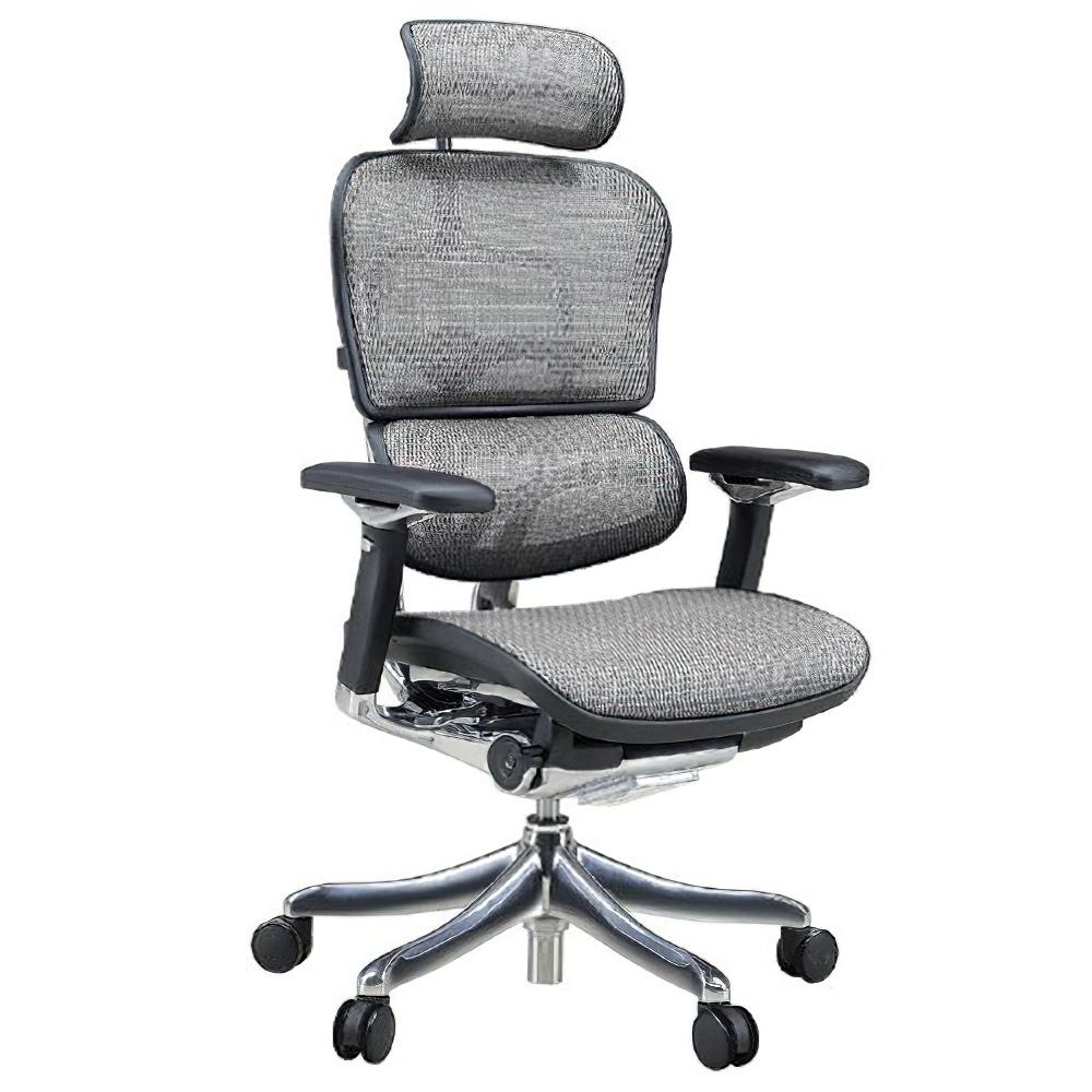 エルゴヒューマン プロ ハイタイプ W665×D665×H1110-1250mm エルゴノミクスチェア メッシュ:ホワイト オフィス家具