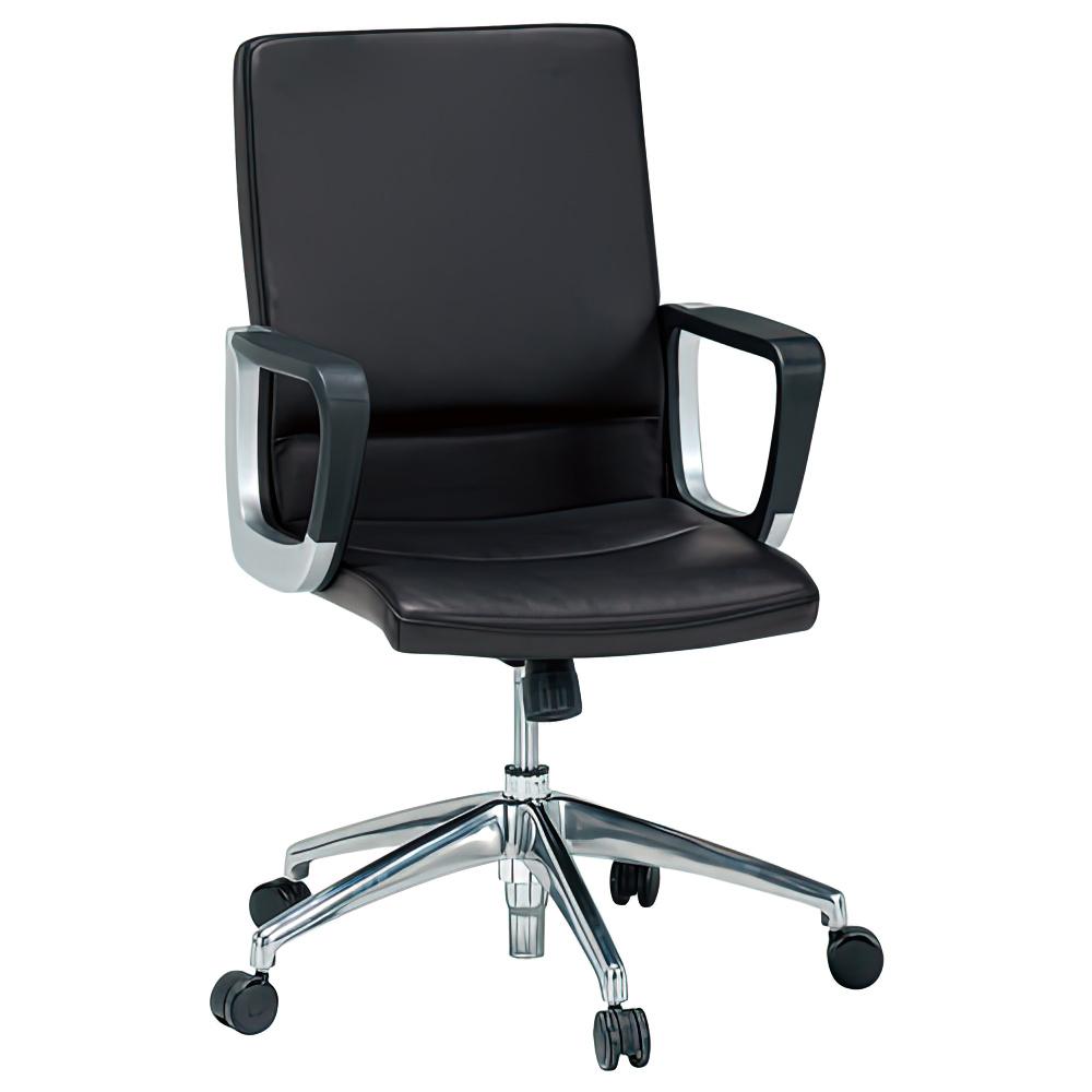 ダジェンダ W600×D675×H930-1020mm マネージメントチェア 社長椅子 ブラウン 役員椅子 重役椅子 役員家具 オフィス家具
