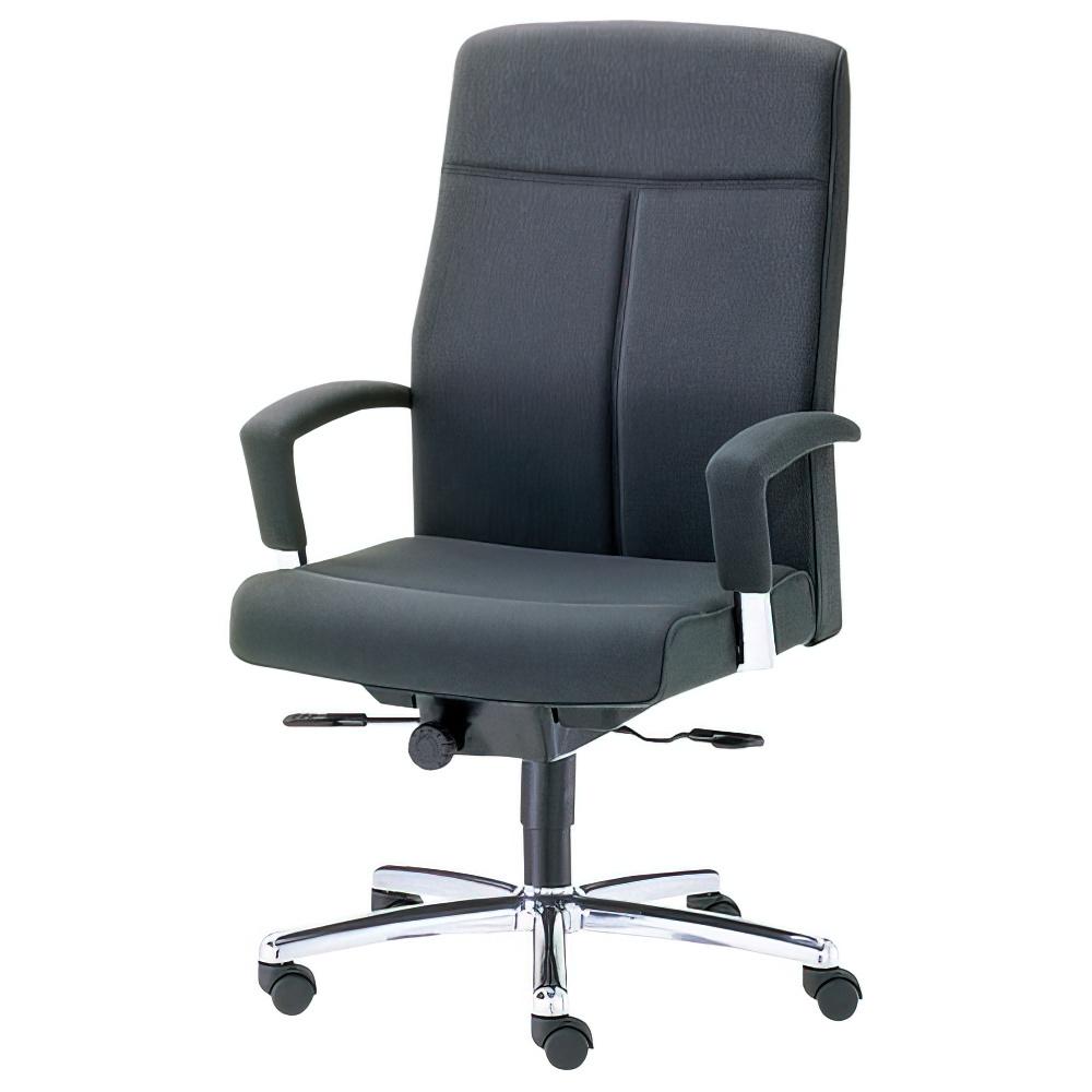 EX-300 ハイバックタイプ W650×D655×H1030-1115mm マネージメントチェア 社長椅子 ブラック 役員椅子 役員家具 内田洋行 オフィス家具