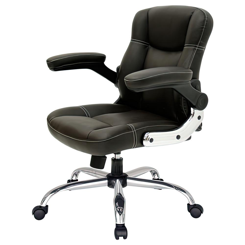 ミニ mini W660×D590×H860-940mm モカブラック マネージメントチェア 社長椅子 役員椅子 重役椅子 役員家具 オフィス家具