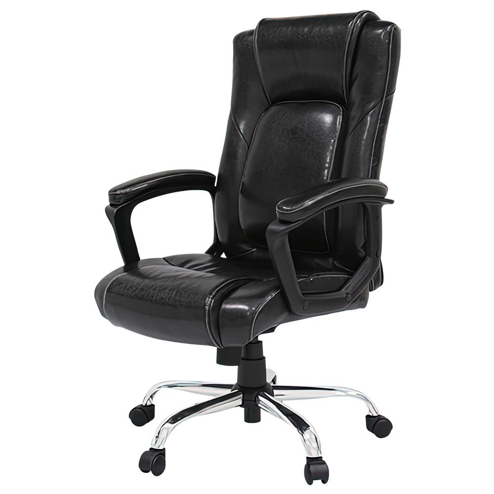 スパイン Spine W620×D640×H1030-1110mm マネージメントチェア オフィスチェア ブラック 重役椅子 役員椅子  オフィス家具