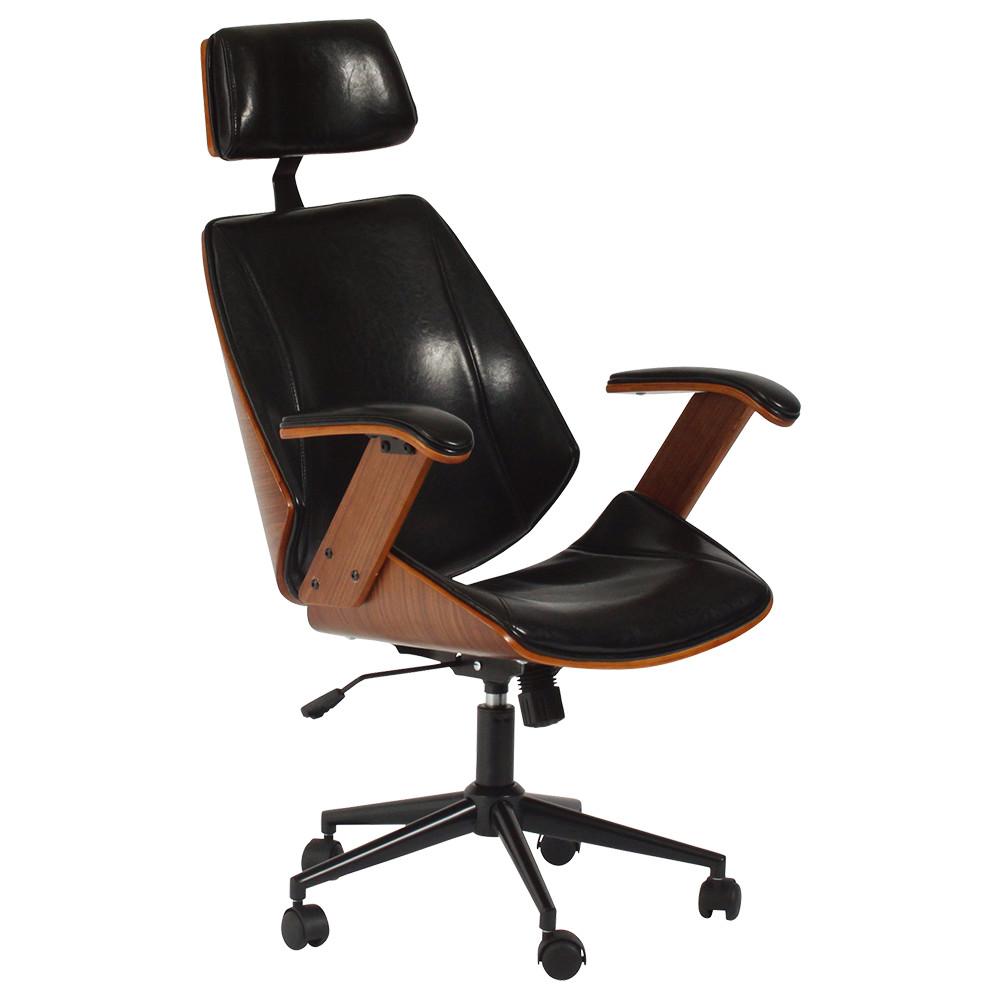 ケルサ W610×D670×H1140-1200mm マネージメントチェア ハイバック ヘッドレスト オフィスチェア 事務椅子 オフィス家具
