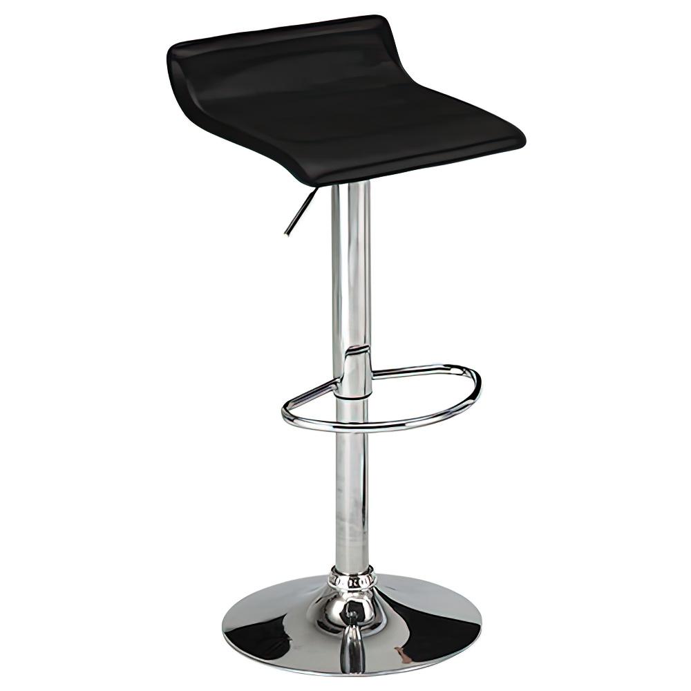 ピアット カウンターチェア W390×D410×H660-870mm ブラック ハイチェア 椅子 昇降式 ミーティングチェア 店舗  オフィス家具