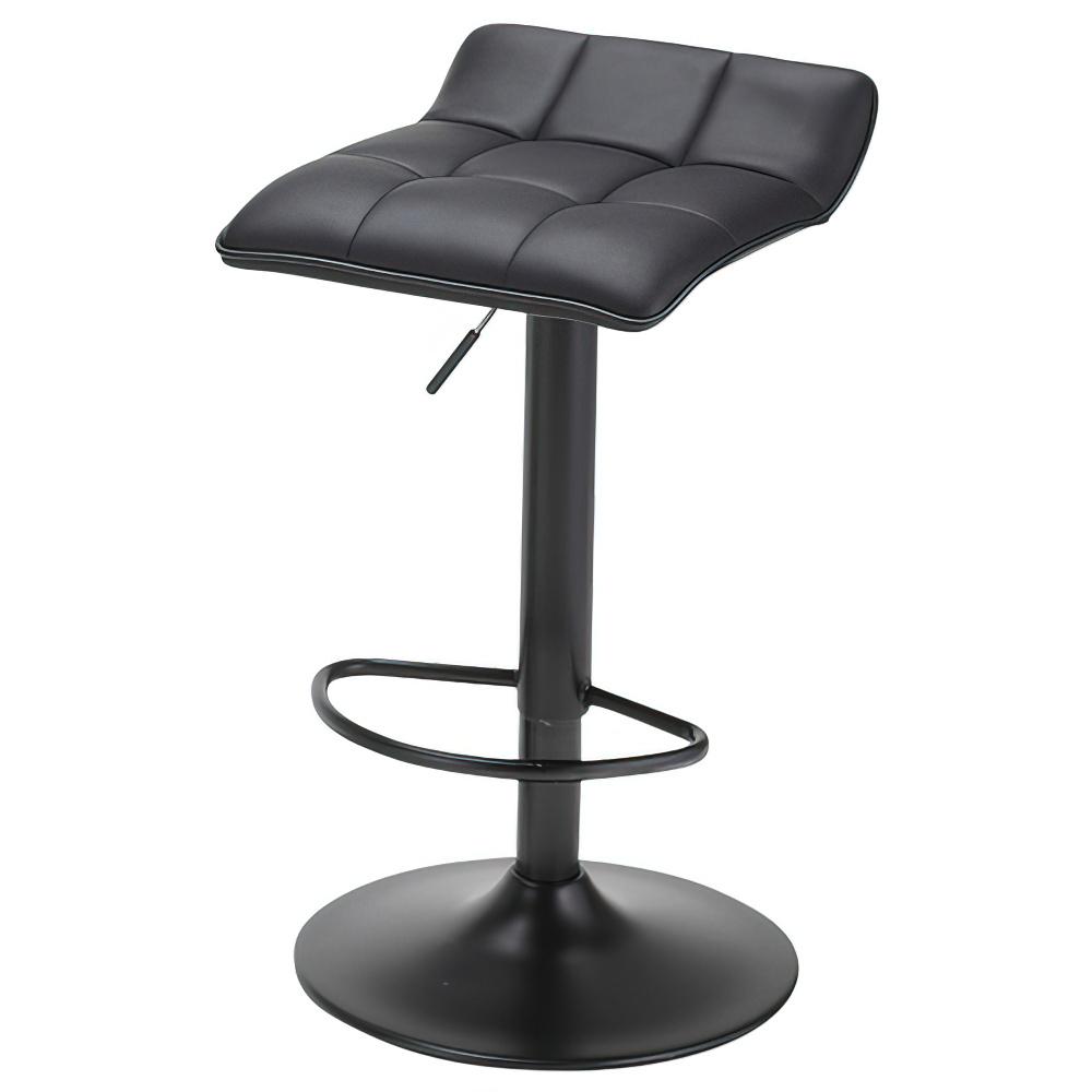 シエロ カウンターチェア W385×D400×H645-855mm ブラック ハイチェア 椅子 昇降式 ミーティングチェア 店舗  オフィス家具
