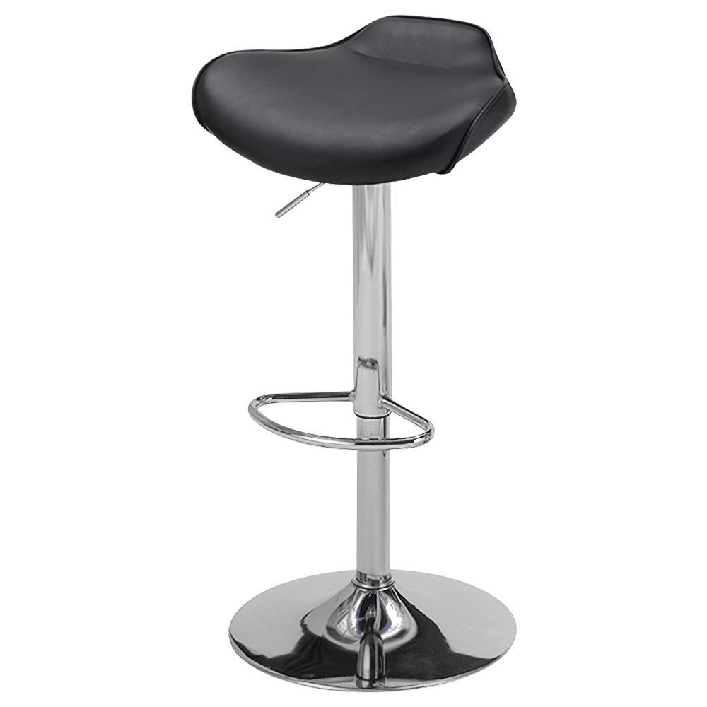 ティエラ カウンターチェア W450×D430×H650-860mm ブラック ハイチェア 椅子 昇降式 ミーティングチェア 店舗  オフィス家具