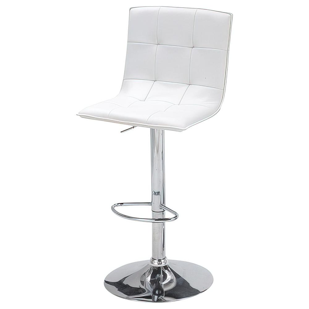 ビエント カウンターチェア W440×D500×H935-1145mm ホワイト ハイチェア 椅子 昇降式 ミーティングチェア 店舗  オフィス家具