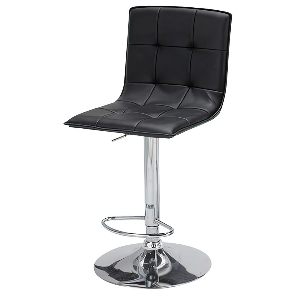 ビエント カウンターチェア W440×D500×H935-1145mm ブラック ハイチェア 椅子 昇降式 ミーティングチェア 店舗  オフィス家具