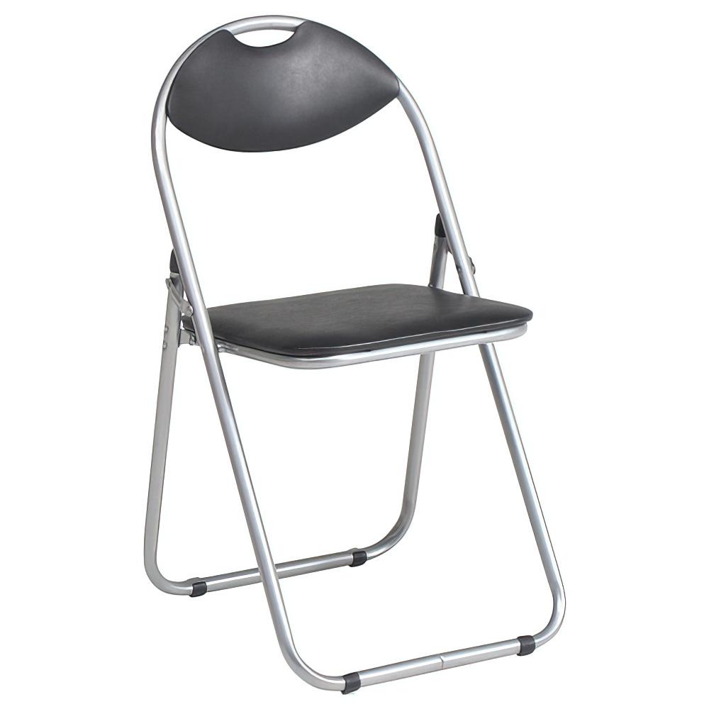 折りたたみ椅子 ベーシックタイプ W450×D470×H795mm ミーティングチェア パイプ椅子 会議椅子 会議チェア オフィス家具