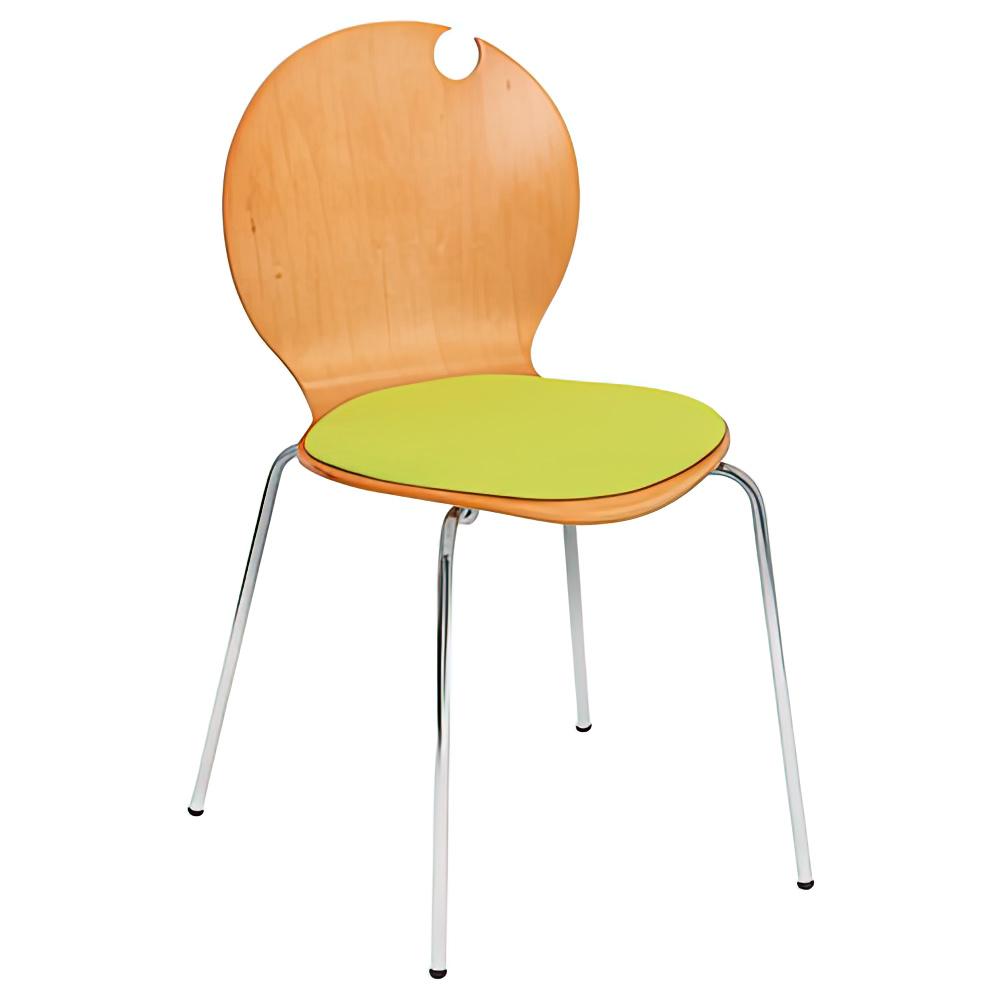 コロナチェア W490×D505×H810mm 会議椅子 グリーン 会議チェア ミーティングチェア オフィス家具