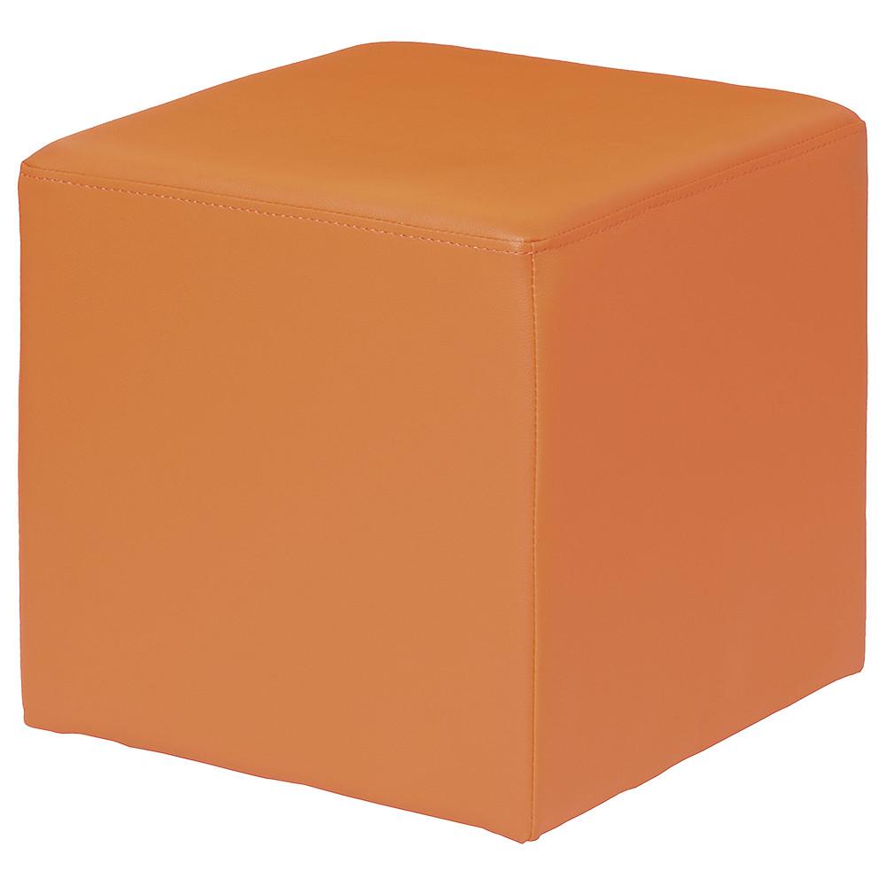 キューブスツール W400×D400×H400mm カラフル 四角 角型 コンパクト ソファ ロビー 椅子 オフィス家具
