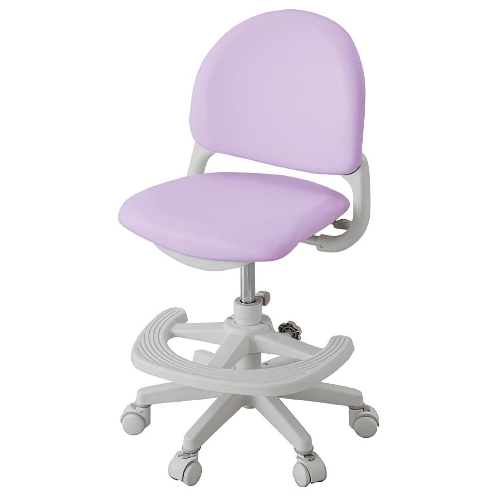 ベストフィットチェア W462×D501-566×H7850-895mm パープル 学童チェア 塾用学習椅子 スタディチェア 学童椅子 オフィス家具