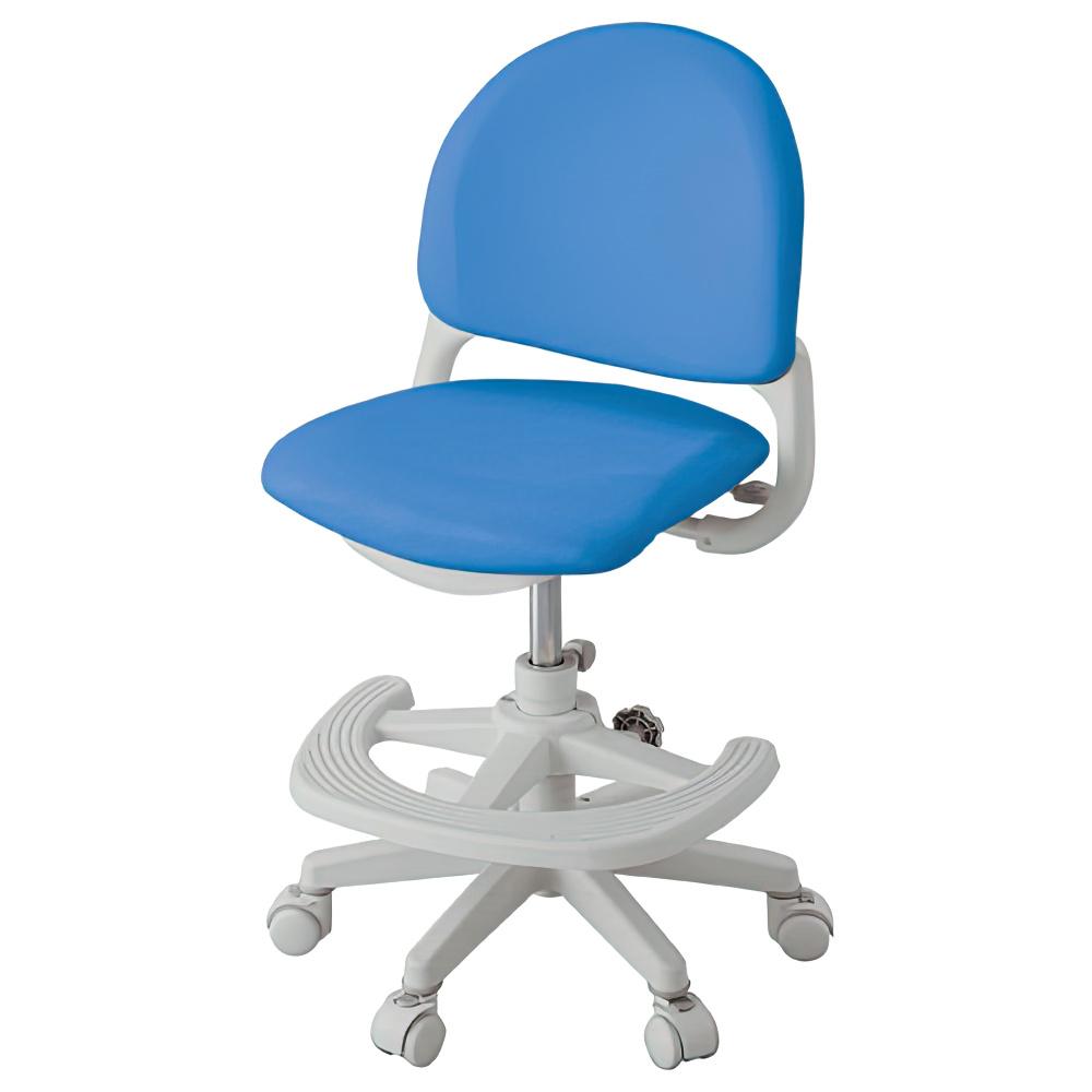 ベストフィットチェア W462×D501-566×H7850-895mm パッションブルー 学童チェア 塾用学習椅子 スタディチェア 学童椅子 オフィス家具