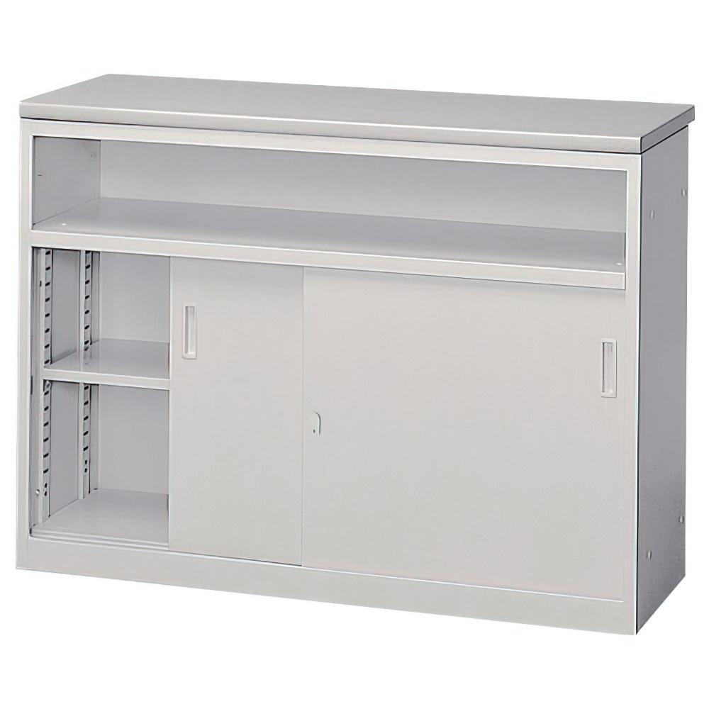 収納U型COハイカウンター W1200×D450×H885mm エントランスカウンター 受付カウンター オフィスカウンター オフィス家具