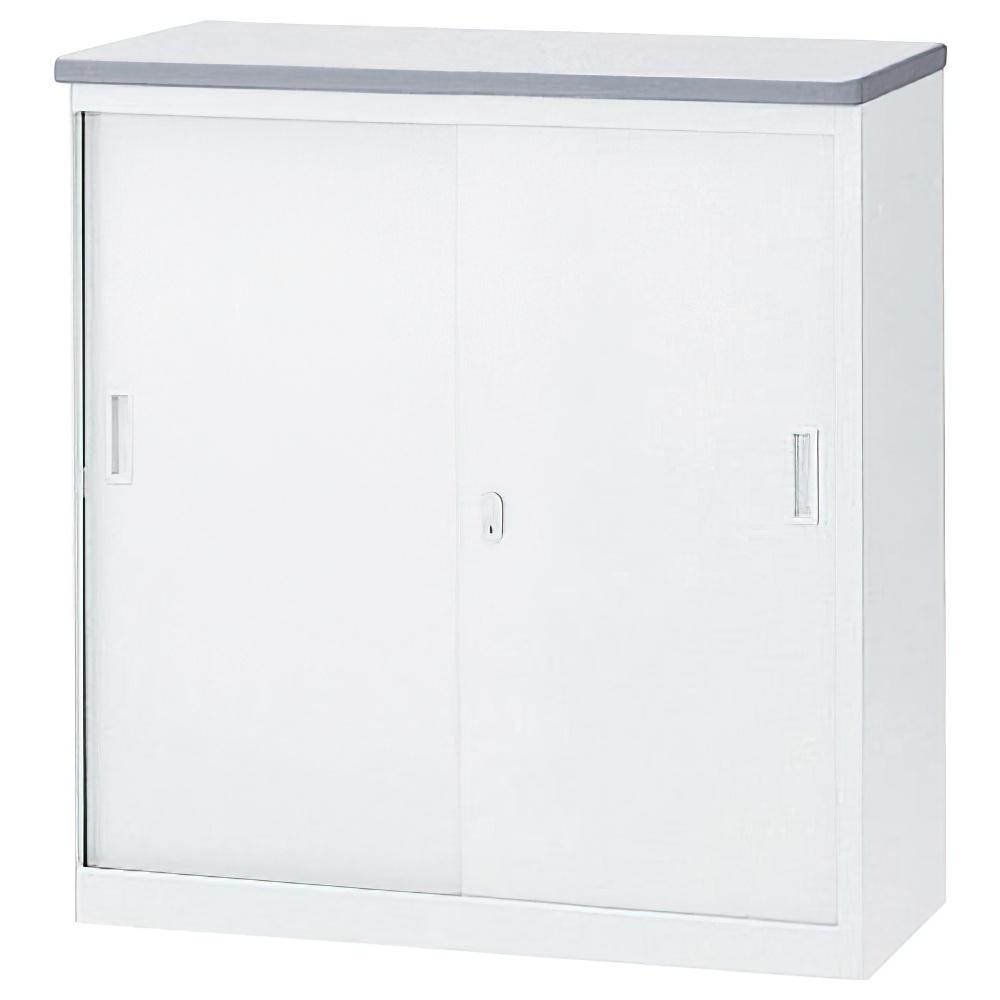 収納S型ホワイトハイカウンター W900×D454×H950mm エントランスカウンター 受付カウンター オフィスカウンター オフィス家具