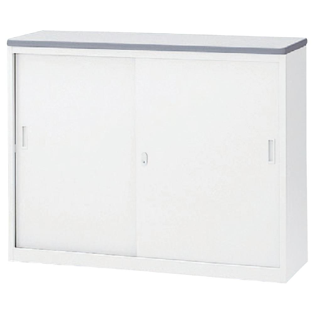 収納S型NKハイカウンター W1200×D454×H950mm ホワイト エントランスカウンター 受付カウンター オフィスカウンター オフィス家具