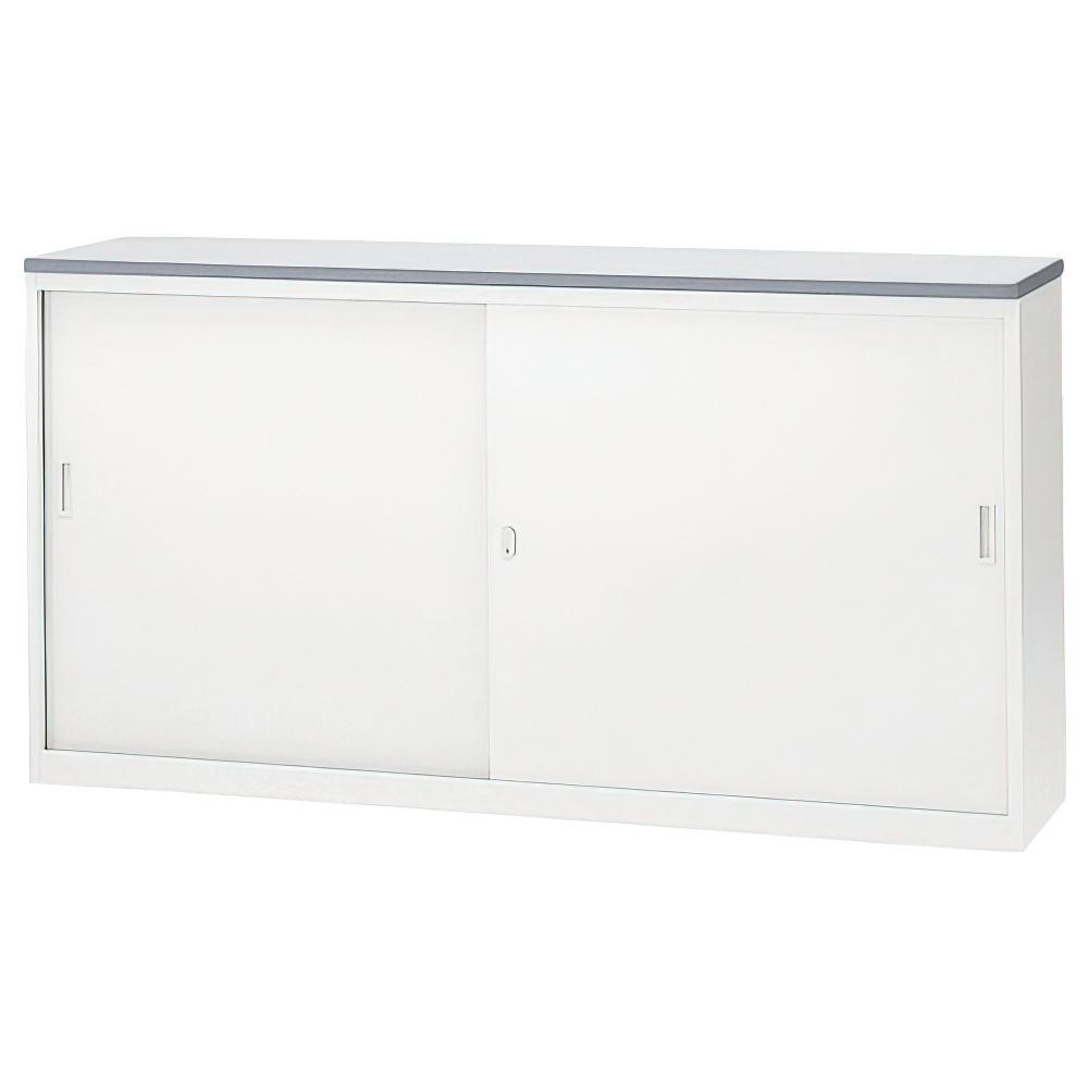 収納S型ホワイトハイカウンター W1800×D454×H950mm エントランスカウンター 受付カウンター オフィスカウンター オフィス家具