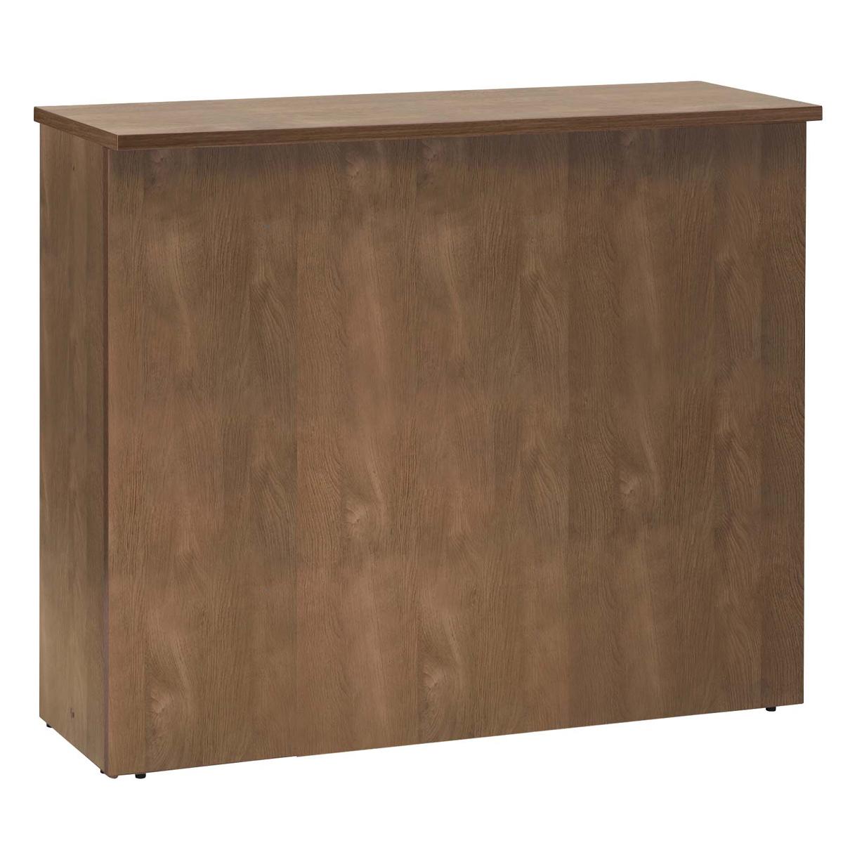 ジェイ ハイカウンター W1200×D450×H1000mm ウォルナット エントランスカウンター 受付カウンター オフィスカウンター オフィス家具