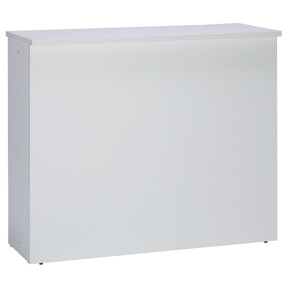 ジェイ ハイカウンター W1200×D450×H1000mm ホワイト エントランスカウンター 受付カウンター オフィスカウンター オフィス家具