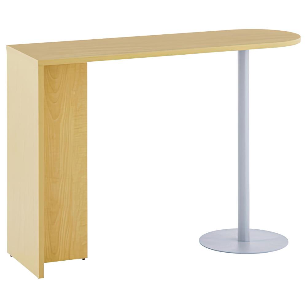 ジェイ ハイカウンター専用サイドテーブル W1400×D450×H1000mm ナチュラル エントランスカウンター 受付カウンター オフィスカウンター オフィス家具
