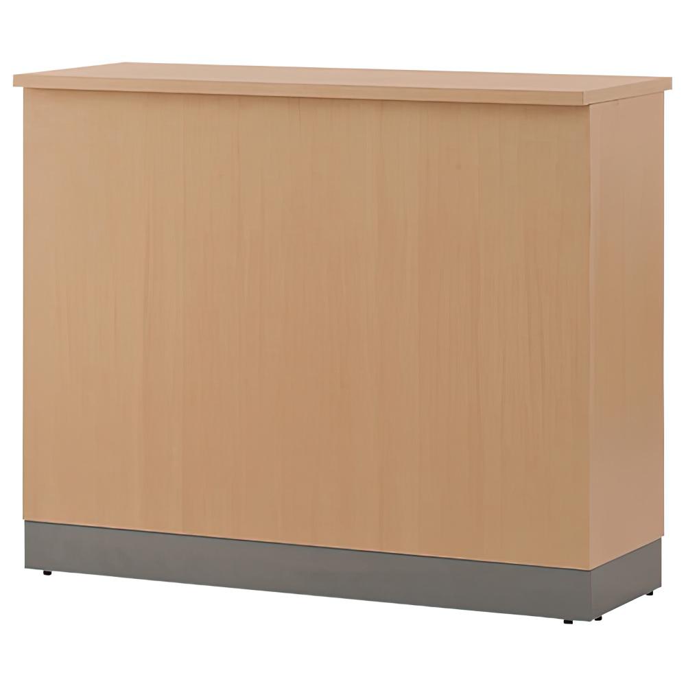 ノルム ハイカウンター W1200×D450×H1000mm ナチュラル エントランスカウンター 受付カウンター オフィスカウンター オフィス家具