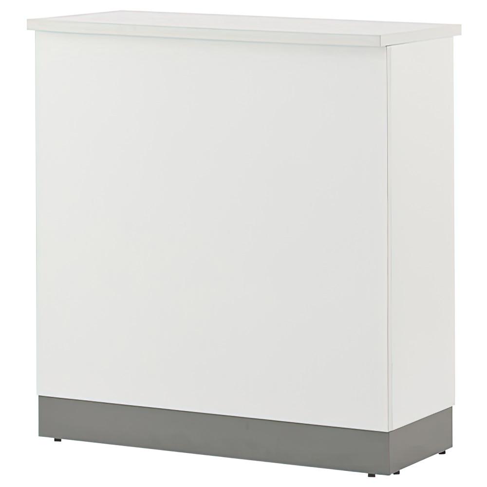 ノルム ハイカウンター W900×D450×H1000mm ホワイト エントランスカウンター 受付カウンター オフィスカウンター オフィス家具