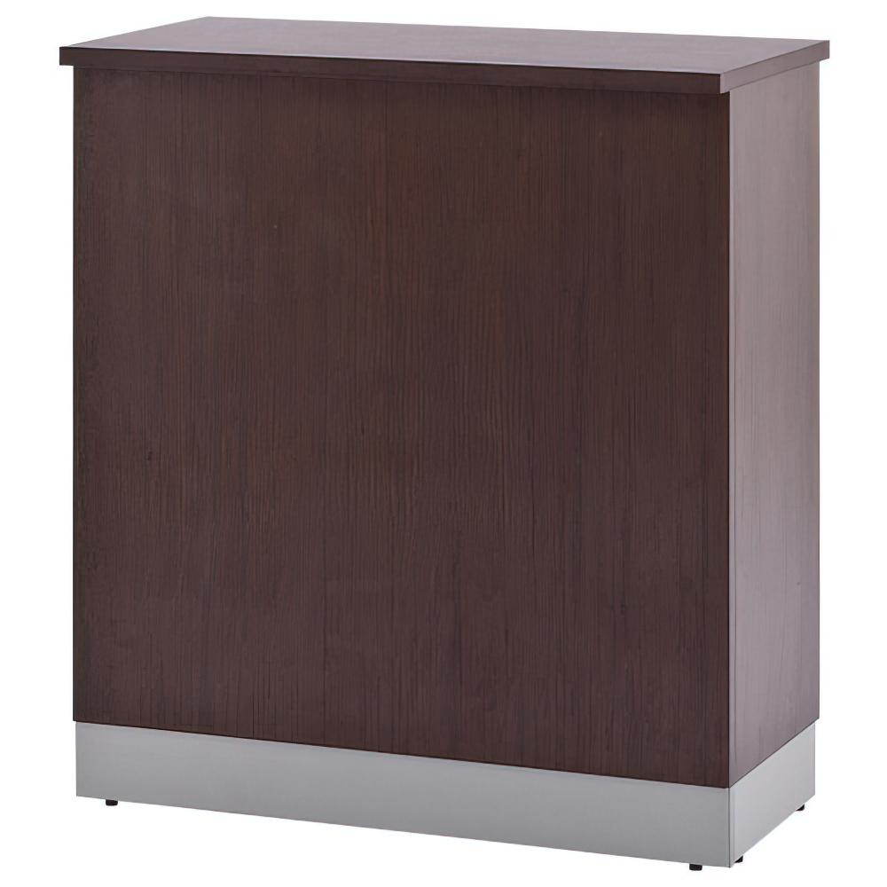 ノルム ハイカウンター W900×D450×H1000mm ダーク エントランスカウンター 受付カウンター オフィスカウンター オフィス家具