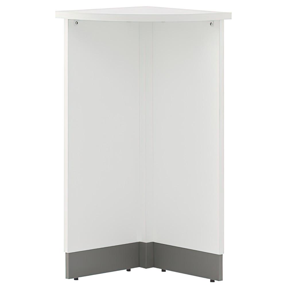 ノルム ハイカウンター W450×D450×H1000mm ホワイト エントランスカウンター 受付カウンター オフィスカウンター オフィス家具