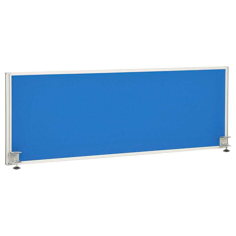デスクトップパネル W1100×D32×H390mm デスクパーティション ブルー デスクスクリーン デスクパネル オフィス家具