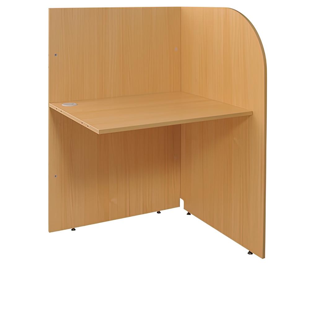 多目的個別ブース W800×D700×H1200mm パーソナルブース キャレルデスク 連結型 オフィス家具